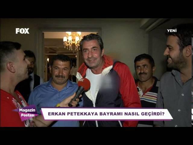 Erkan Petekkaya - Magazin Postasi- FOX TV (4 ekim 2015)