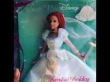By Santa Maria.Моя свадебная кукла русалочка Ариэль от Маттел.