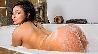 Un baño espumoso
