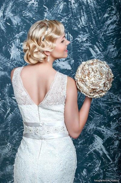 Свадебный образ в стиле Винтаж