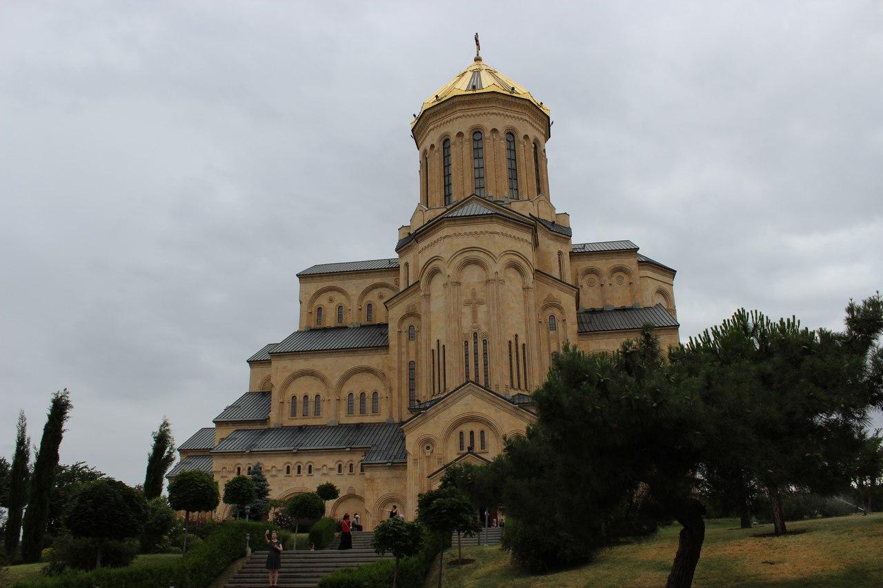 Центральный православный храм в Тбилиси