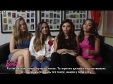 Barbie in Rock n' Royals Little Mix Interview RusSub
