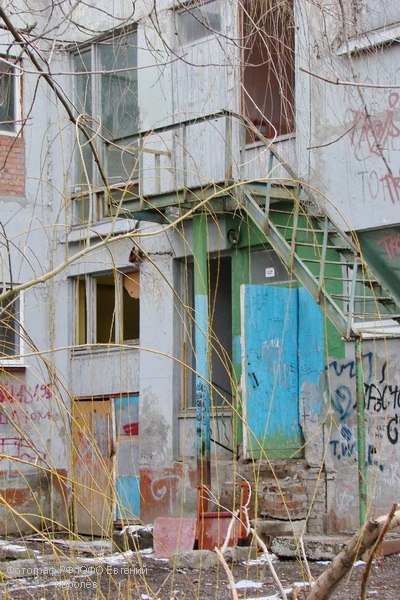 В Таганроге произошел пожар в очередном здании «под снос» - бывший Дом детского творчества