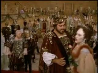 Luciano Pavarotti (Duca) canta Questa O Quella dal Rigoletto
