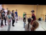 Мастер-класс в E-dance (Гриша Пашков 158 Crew)