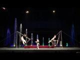 Цирк танцующих фонтанов Аквамарин гимнасты 2
