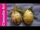 Jak opleść wstążką jajko styropianowe? (Easter eggs ribbon)
