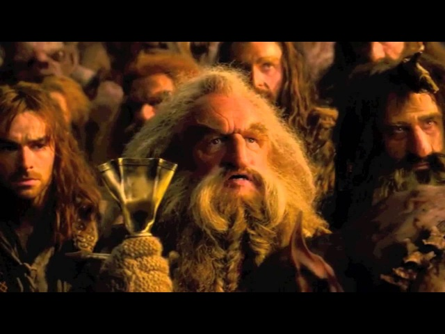 The Hobbit- AUJ Extended (Bofur Lies to Goblin King)