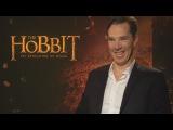 The Hobbit Martin Freeman, Benedict Cumberbatch and Ed Sheeran teach Elvish