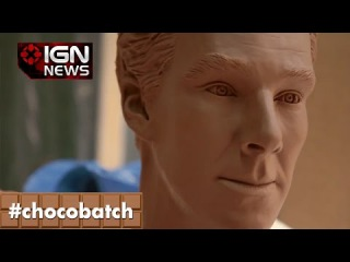 Meet The Benedict Cumberbatch Statue Made Out of 500 Chocolate Bars - IGN News