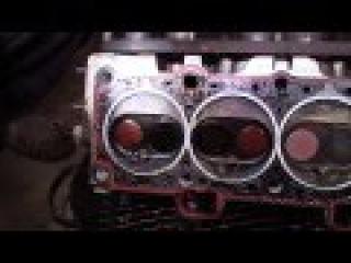 Lada Samara Ремонт головки блока цилиндров ВАЗ 2110 . и др...Промывка форсунок (чистка инжектора)