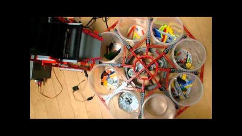 LEGO Mindstorms NXT Сортировщик