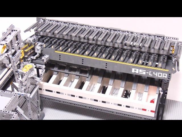 Сортируем Lego-оси