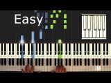 Yiruma - River Flows In You - Piano Tutorial Easy - How to Play synthesia