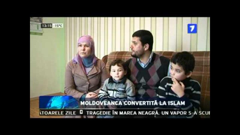 Moldoveanca convertita la islam.mp4