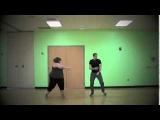 Толстушка танцует