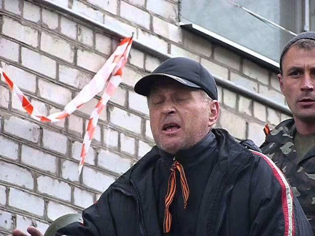 13 апреля 2014. Славняск. Славянск сегодня