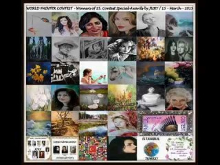 WORLD PAINTER CONTEST - Winners of 15. Contest Special Awards by JURY