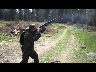 скоростная стрельба из МР-155