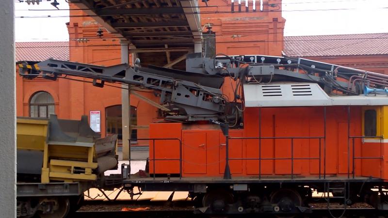 Plasser Theurer RM-80 UHR-Вышний Волочек