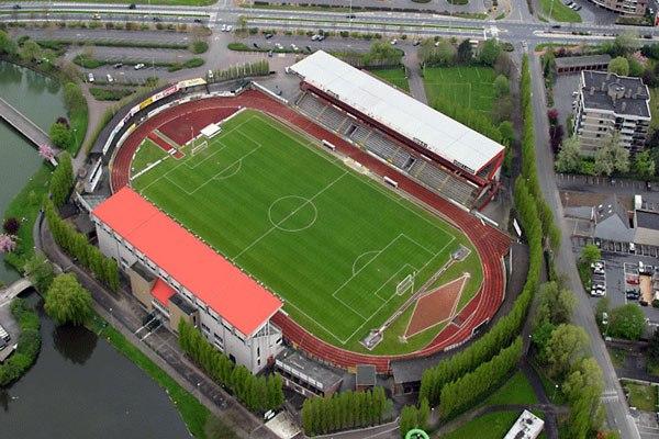 """Стадион """"Регенборгстадион"""" (Regenboogstadion), Варегем"""