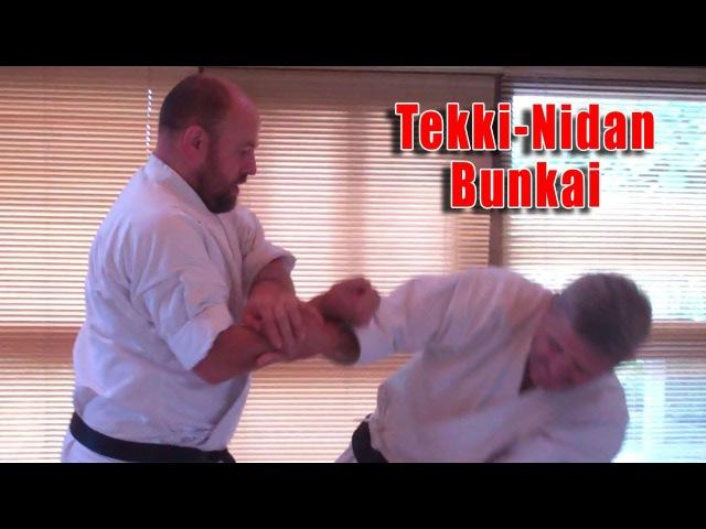 Practical Kata Bunkai Thoughts on Tekki-Nidan Bunkai (Naihanchi Nidan)