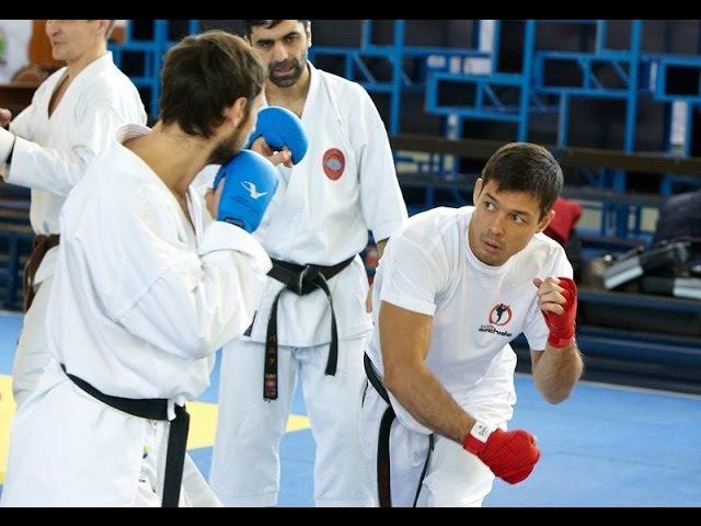 Chinzo Machida - fight training (part5)