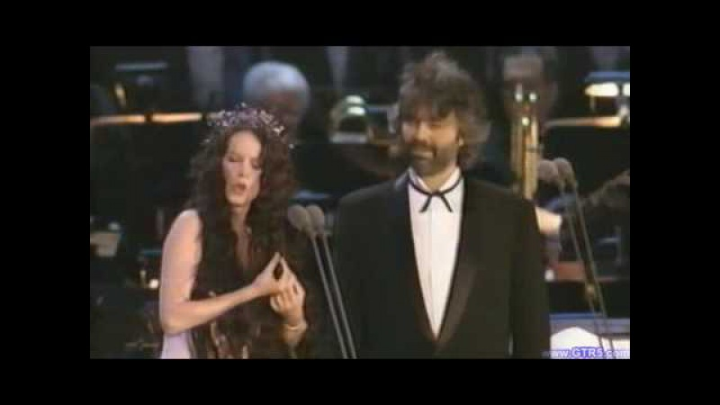 Sarah brightman Andrea Bocelli Time to say goodbye live