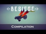 Besiege Compilation - Cars ( The bus, Monster car, F1)