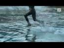 Бег по воде Страшное интересное и невероятное видео, явление