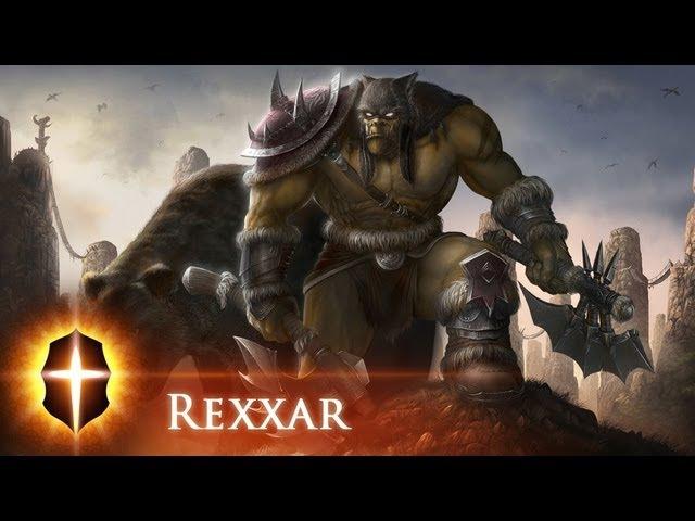 Rexxar - Original SpeedPainting by Tamplier 2011