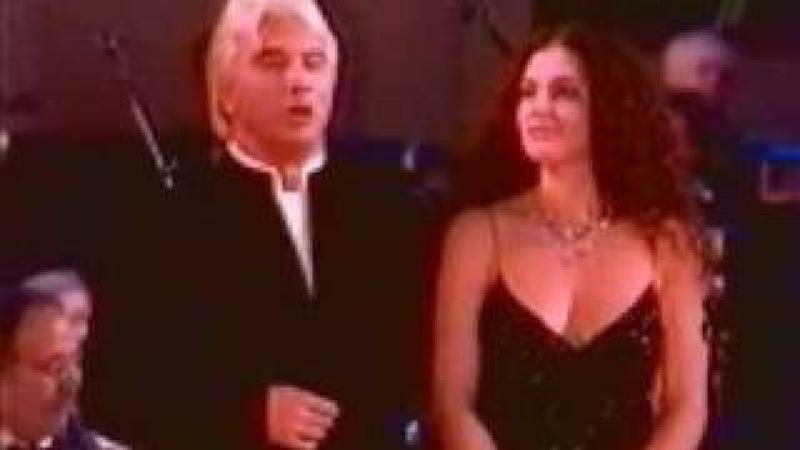 Dmitri Hvorostovsky and Florence Hvorostovsky (Live) The merry widow