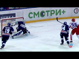 01.12 Лучшие сэйвы недели КХЛ / 12/01 KHL Top 10 Saves of the Week