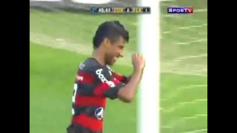 SUSPEITO: Penalti Flamengo x Corinthians - Felipe parado