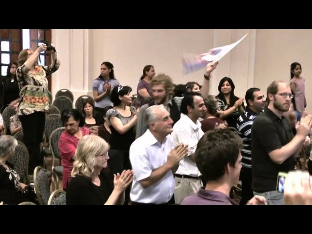 Jews Arabs worship together in Jerusalem...Rare video Clip(Subtitles @ CC)