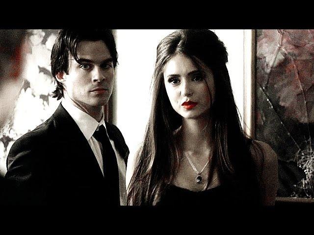 Damon Salvatore Katherine Pierce • ghost around HD
