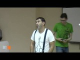 Творческая встреча Евгения Гришковца со студентами СФУ