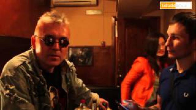 Интервью с Павлом Яцыной (Красная плесень) Gaudeamus 3 марта