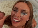 biglouvids:  shortvideos:  Bukake, Cumshot.  Nice Bukake  Fantastic glazing. Too bad she doesn't open her eyes. 11 pts.