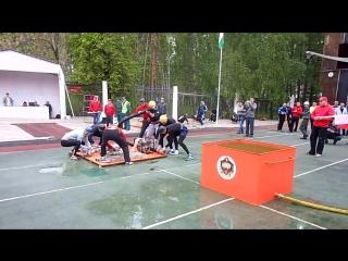 Чемпионат РБ по пожарно-прикладному спорту, боевое развертывание, 28 отряд