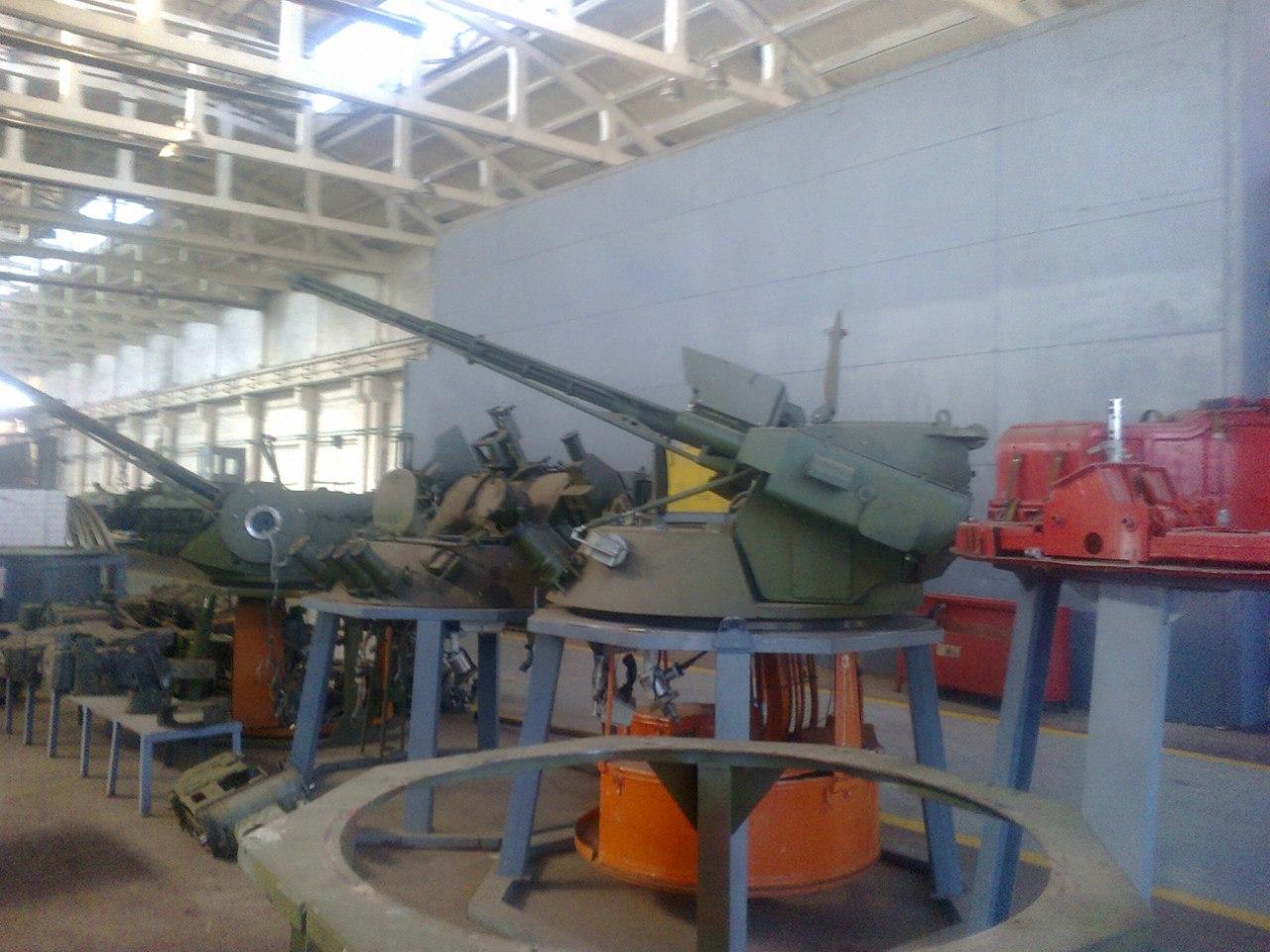 Восстановление бронетехники для ВСУ на Житомирском бронетанковом заводе