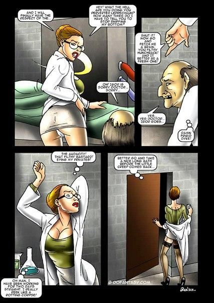 Порно комиксы франкенштейн