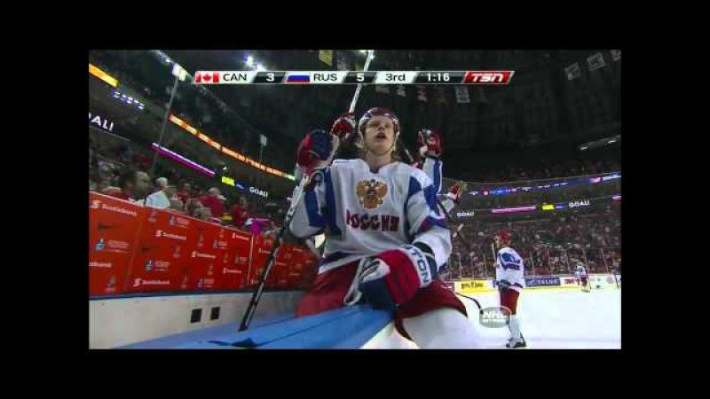 МЧМ финал 5-3 Россия - Канада 5 января 2011 World Juniors - Gold: Russia vs. Canada 1/5/11