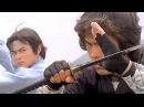 Мастер кун фу А-То против японского ниндзя | Kung fu master A-To vs Japanese ninja