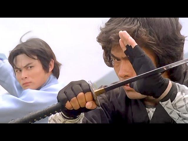 Мастер кун фу А-То против японского ниндзя   Kung fu master A-To vs Japanese ninja