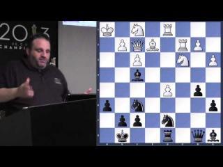 Lecture with GM Ben Finegold (Exchange Sacrifices | Garry Kasparov, Anatoly Karpov) -