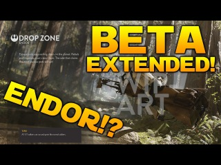 Star Wars Battlefront: BETA EXTENDED + ENDOR MAP?