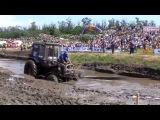 Racing tractors through the mud 2015! Гонки тракторов по грязи! Лучшие моменты 2015.
