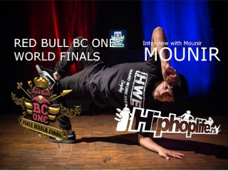 Exclusive interview with B-Boy MOUNIR / Red Bull BC One World Finals France 2014. [#bd_video]