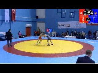 61 кг. Мурад Нухкадиев (Россия) - Виктор Лебедев (Россия)
